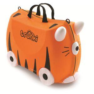 trunki(トランキ) 子供用スーツケース タイガー TRK007  - 拡大画像