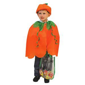 RUBIE'S(ルービーズ) CAPE(ケープ) ケープ Halloween Kids - Pumpkin(ハロウィーン キッズ パンプキン) - 拡大画像