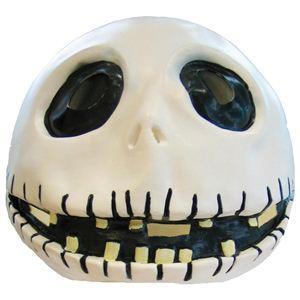 RUBIE'S(ルービーズ) DISNEY(ディズニー) コスプレ THE NIGHTMARE BEFORE CHRISTMAS(ナイトメアー・ビフォア・クリスマス) Jack Mask(ジャック マスク) - 拡大画像