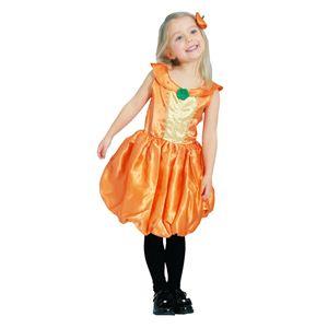 RUBIE'S(ルービーズ) CHILD(チャイルド) コスプレ Pumpkin Princess(パンプキン プリンセス) Sサイズ - 拡大画像