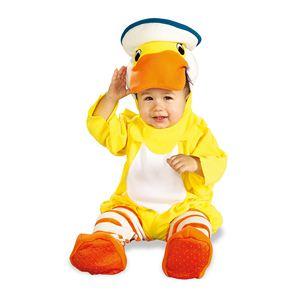 RUBIE'S(ルービーズ) CHILD(チャイルド) コスプレ Rubber Ducky(ラバー ダッキー) Newbornサイズ - 拡大画像
