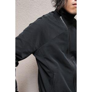 JULIUS ジャットネックボマージャケット BLACK サイズ1