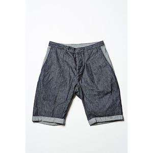 VADEL  intuck trousers shorts INDIGO COMB サイズ46