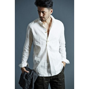 VADEL swedish pull-over shirts WHITE サイズ46
