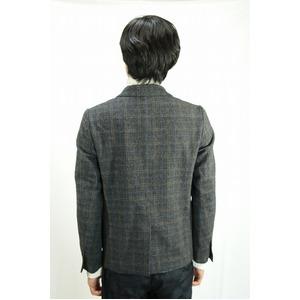 08sircus ミックスグレンチェックジャケット DARK GRAY サイズ1(Sサイズ相当)