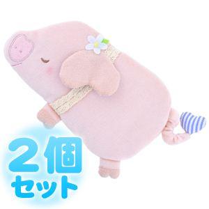 ふんわりCool Heartful Pig(ハートフル ピッグ) ひんやり抱きまくら 【2個セット】