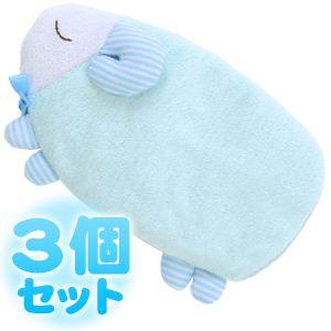 ふんわりCool ひんやりアイピロー おやすみ羊 【3個セット】