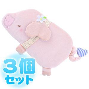 ふんわりCool Heartful Pig(ハートフル ピッグ) ひんやり抱きまくら 【3個セット】