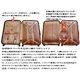 TSAロック搭載 + ONE二重ロック可能 スーツケース 超軽量小型光沢仕上げ Sサイズ (1-3泊 機内持ち込み可) ホワイト 6202 写真5