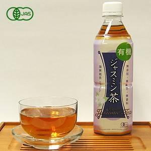 海東ブラザース ジャスミン茶 有機JAS認定商品 無添加・無着色・無香料 【500ml×24本】 - 拡大画像