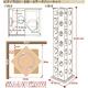 回転式タワーコミックラック【7段タイプ】 レッド - 縮小画像2