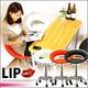 カウンターチェア LIP -リップ- ブラック - 縮小画像1