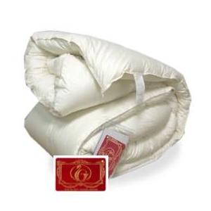 ハンガリー産ホワイトダウン93% 羽毛布団 クィーン