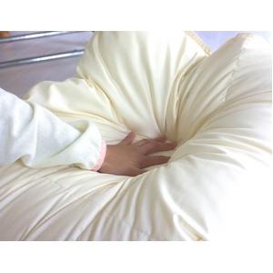 フランス産ホワイトダウン93% 羽毛布団 セミダブル