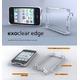 ◆iPhone4S / iPhone4  バンパーケース exoclear edge (エクソクリア エッジ) Smoke Black - 縮小画像2