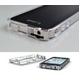 ◆iPhone4S / iPhone4  バンパーケース exoclear edge (エクソクリア エッジ) Smoke Black - 縮小画像4