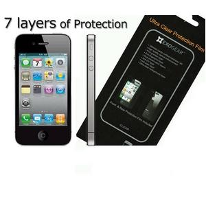 ●最高級、最強●◆iPhone4S / iPhone4 対応◆/【7層構造】ウルトラクリア液晶保護フィルム