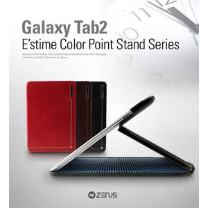 ★ GALAXY Tab 10.1 LTE SC-01D ★ ESTIME COLOR POINT STAND SERIES-Real Black