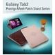 ★ GALAXY Tab 10.1 LTE SC-01D ★ PRESTIGE MESH PATCH STAND SERIES -BLACK CHOCO