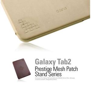 ★ GALAXY Tab 10.1 LTE SC-01D ★ PRESTIGE MESH PATCH STAND SERIES -Light Beige