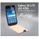 Zenus Galaxy S2 LTE (SC-03D) ケース Masstige Folder ブラックチョコ