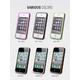iPHONE4/4Sバンパーケース Air Bumper Mask-White Black - 縮小画像2