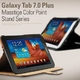 Galaxy Tab 7.0Plus masstige Color Point Stand-Real Black