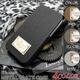 Luxury Black(ラグジュアリーブラック) iPhone4ケース(アイフォン4専用) カーボンファイバーハードケース ブラウン