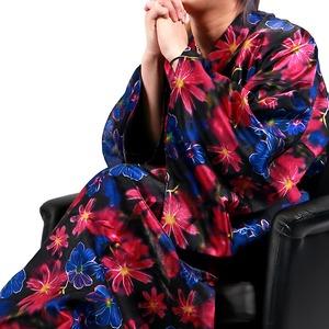 Luxury Black(ラグジュアリーブラック)振袖艶浴衣全14型華夏(カナユカタ)メンズ浴衣 男性用