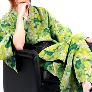 Luxury Black(ラグジュアリーブラック)振袖艶浴衣全14型萌黄(モエギ)メンズ浴衣 男性用