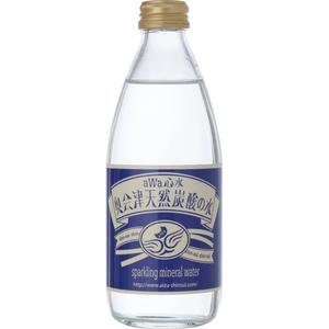 aWa心水 奥会津天然炭酸の水 ビン・330ml×24本