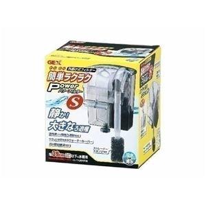 GEX(ジェックス) 簡単ラクラクパワーフィルター S (水槽用フィルター) 【ペット用品】