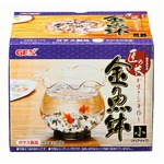 GEX(ジェックス) 匠の技が生きる金魚鉢 小 (水槽用金魚鉢) 【ペット用品】