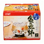 GEX(ジェックス) 匠の技が生きる金魚鉢 中 (水槽用金魚鉢) 【ペット用品】