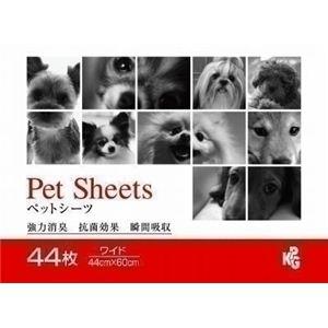 KPG(ケーピージー) ペットシーツワイド 44枚 (犬用ペットシーツ) 【ペット用品】 - 拡大画像