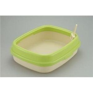 RCペット コロル ネコトイレ55 グリーン (猫用トイレ) 【ペット用品】 - 拡大画像
