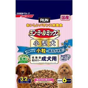 日清ペットフード ランミールミックス小粒成犬ヘルシー3.2Kg 【ペット用品】