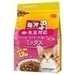 (まとめ)日本ペットフード ミオドライミックス毛玉対応かつお味1.2Kg 【猫用・フード】【ペット用品】【×9セット】