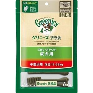 ニュートロジャパン グリニーズP成犬中型11-22kg 6P 【ペット用品】 h01