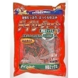 ドギーマンハヤシ デイリージャーキー 野菜 カット1.6Kg 【ペット用品】