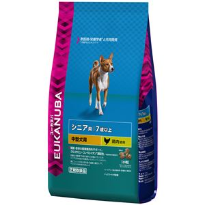 プロクター&ギャンブル・ジャパン ユーカヌバ 7歳以上用シニア中型犬種(小粒) 2.7Kg【ペット用品】【犬用・フード】