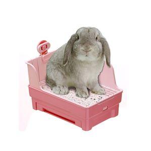 マルカン うさぎの楽ちん清潔トイレ MR-381【ペット用品】
