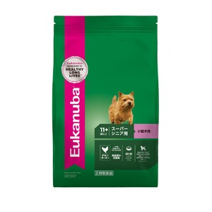 ユーカヌバ 11歳以上用スーパーシニア小型犬種(超小粒) 800g 【犬用・フード】 【ペット用品】