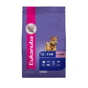 ユーカヌバ 離乳期~12ヶ月齢用子犬用小・中型犬種(超小粒) 800g 【犬用・フード】 【ペット用品】