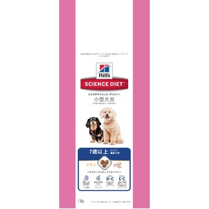サイエンス・ダイエット シニア 小型犬用 高齢犬用 1.5kg 【犬用・フード】 【ペット用品】