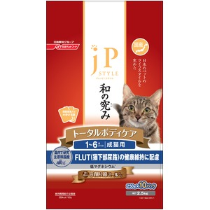 日清ペットフード JPスタイル 1~6歳までの成猫用 2.5Kg 【ペット用品】