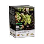 ジェックス ハビタットキット レインフォレスト爬虫類飼育12点セット(樹上環境用) PT2660 【ペット用品】