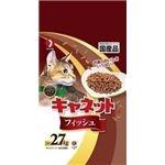 (まとめ)ペットライン キャネットチップ フィッシュ 2.7kg 【猫用・フード】【ペット用品】【×5セット】