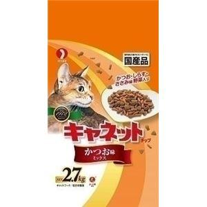 (まとめ)ペットライン キャネットチップかつおミックス2.7kg 【猫用・フード】【ペット用品】【×5セット】