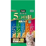 (まとめ)日清ペットフード キャラット5つの味 海の幸高齢猫用1.2Kg 【猫用・フード】【ペット用品】【×6セット】